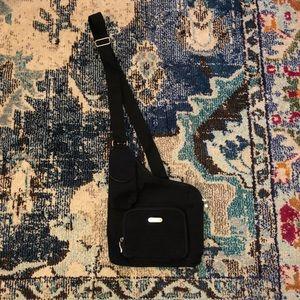 Shoulder Strap Across the Chest Black Bag